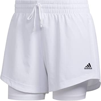 adidas 2in1 WOV Short - Pantalón Corto Mujer: Amazon.es ...