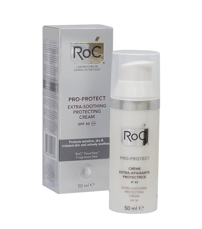Roc Pro-Protect crema extra-calmante SPF, 50ml: Amazon.es: Salud y cuidado personal