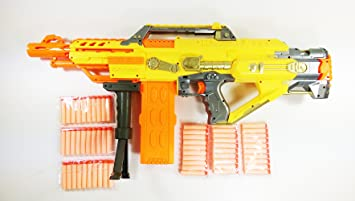 Further, for the guns available, each one can have two colors customized by  the
