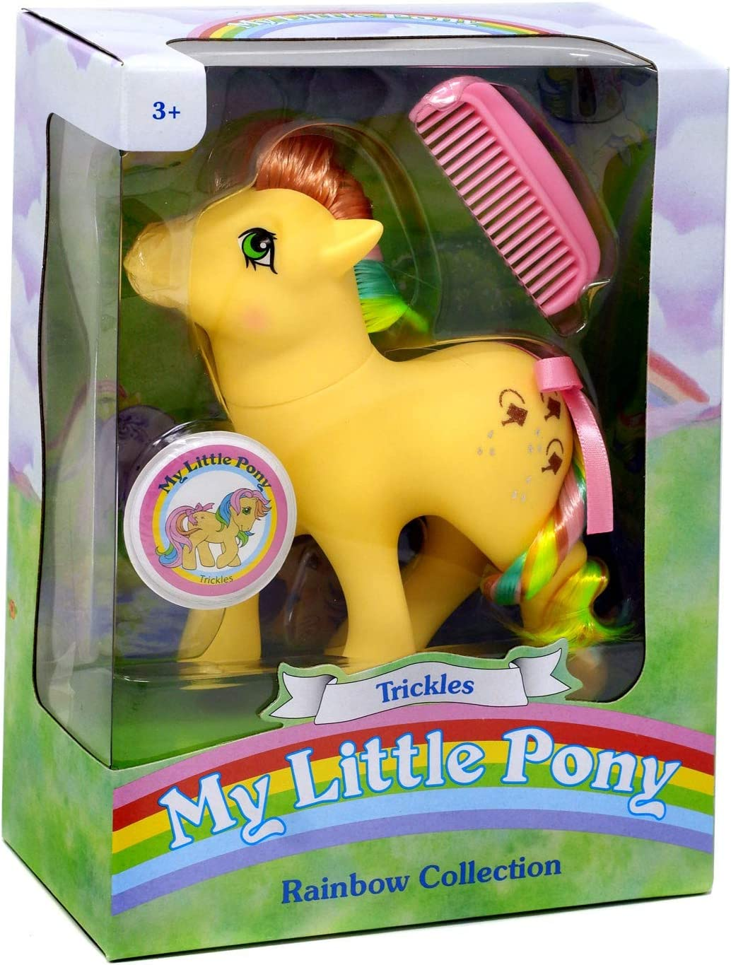 My Little Pony 35274 My Classic Rainbow Ponies-Trickles Collectible, Multicolour
