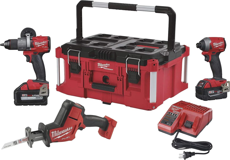 Milwaukee 2997-23PO M18 Kit de 3 herramientas de combustible: Amazon.es: Bricolaje y herramientas