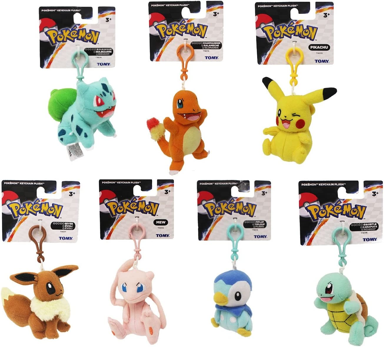 """7/"""" Eevee Plush toy Pokemon plush toy Comes with a Pin! New with Official Tags"""
