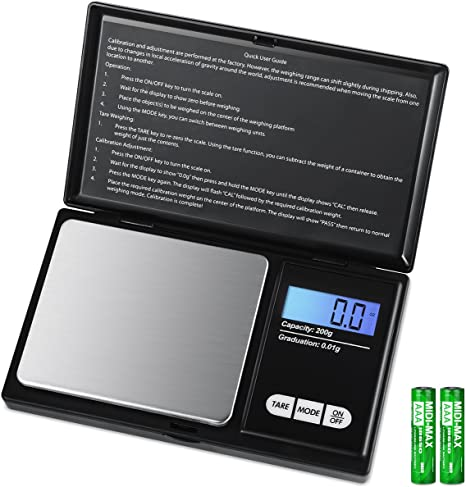 Mini Portable Pocket Jewelry Scales Precision Digital Weight Electronic Balance