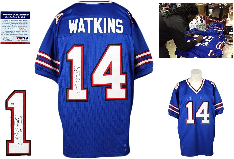 Sammy Watkins Signed Custom Jersey - PSA/DNA - Autographed - Pro ...
