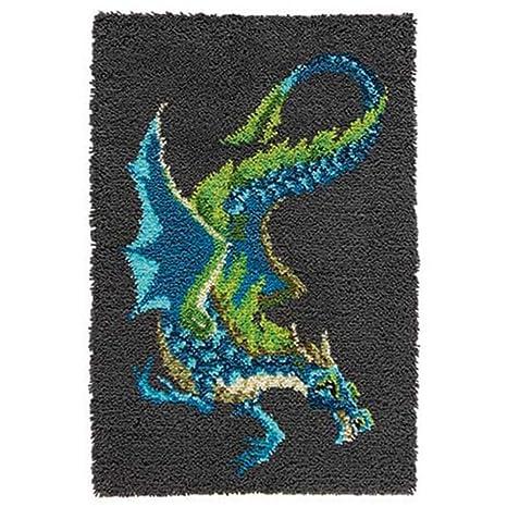 Amazon.com: craftways Dragón de agua kit de ganchillo: Home ...