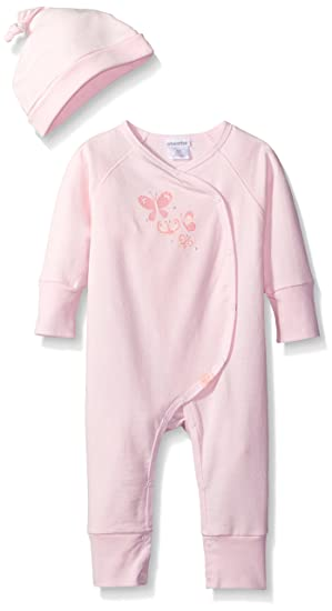 1e4c01ea1fc1 Amazon.com  absorba Baby Girls Coverall with Hat  Clothing