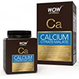 Wow Calcium Citrate Malate 1190 Mg Tablets - 60 Count