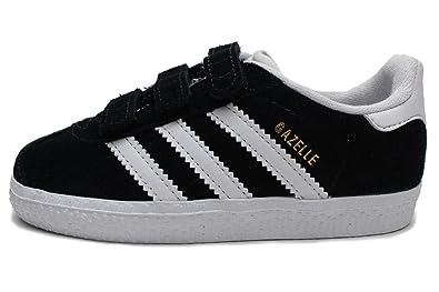 adidas Originals Baby-Boys Gazelle CF I, Core Black/White/White,