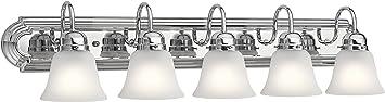 Kichler 5339CHS Vanity, 5-Light 500 Total Watts, Chrome