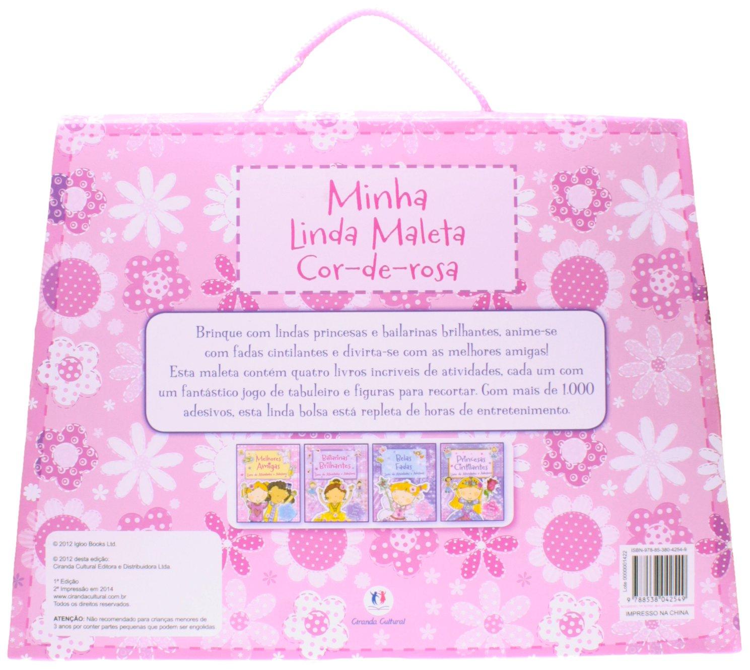 Minha Linda Maleta Cor-de-rosa: Igloo Books, 0: 9788538042549: Amazon.com: Books