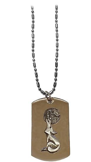 Howling Wolf /& Moon Pewter Metal Emblem Metal Ring Key Chain
