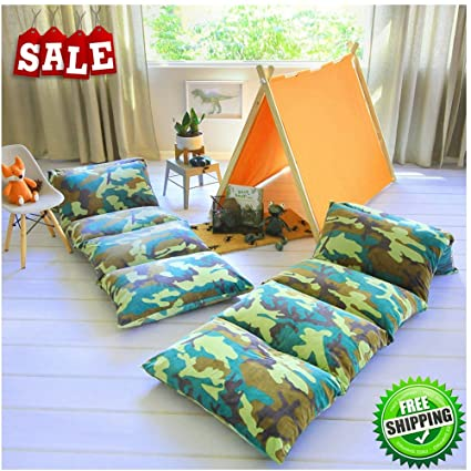Incroyable Toddler Floor Pillow Bed Lounger Cover Soft Reading Watching TV Playing  Games Relaxing Modern Style Fun