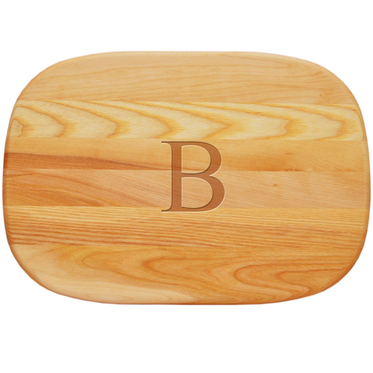 Carved Solutions 735255447279  Medium Everyday Board with Etched Times New Roman initial K.