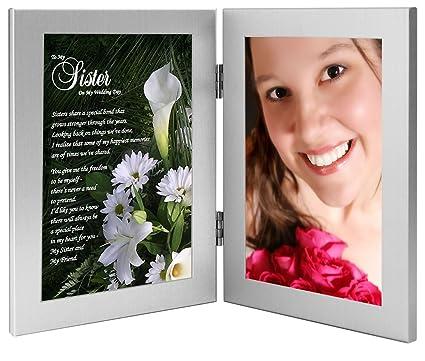 Amazon Sister Wedding Gift Maid Of Honor Or Bridesmaid