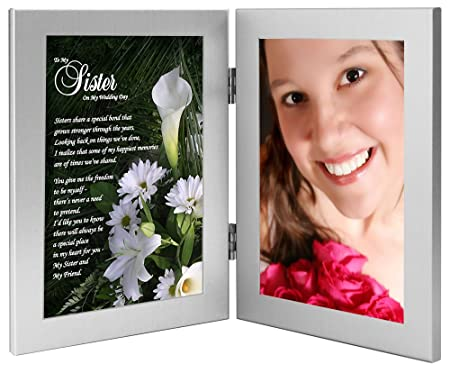 Sister Wedding Gift - Maid of Honor or Bridesmaid Keepsake From the ...