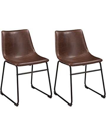 251e3f804f5 Ashley Furniture Signature Design - Centiar Dining Chairs - Set of 2 - Mid  Century Modern
