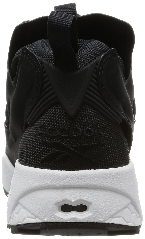 0c085327eea Reebok Sneaker Instapump Fury en Tissu Noir - - Black White
