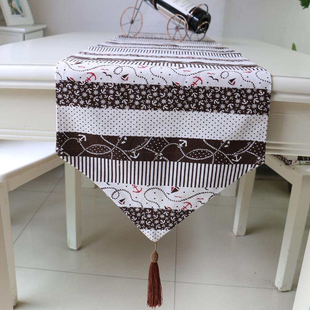 kaige table runners Linen home Table Flag hotel bed flag simple modern Table flag decoration
