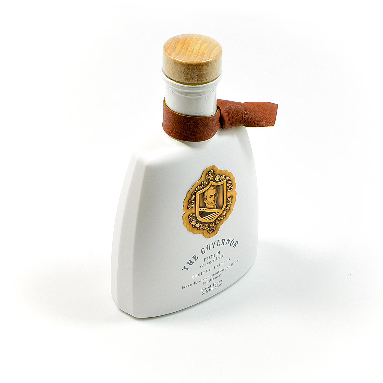 The Governor, Ultra Premium Unfiltered Extra Virgin Olive Oil | Olive Oil Polyphenols with Robust Health-Giving Properties | Cold-Pressed Olive Oil In a Limited Edition Luxury Glass Bottle | 500ml by The Governor (Image #2)
