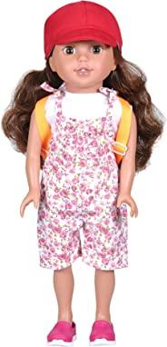 Bumbleberry Girls Tatum Girl Doll, Brown Hair Hispanic, 15