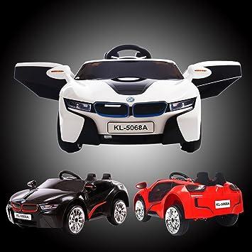 Kids Bmw I8 Style 12v Electric Ride On Car Door Open Parental Remote