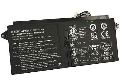 AP12F3J 2ICP3/65/114-2 batería del Ordenador portátil para Acer S7 Ultrabook