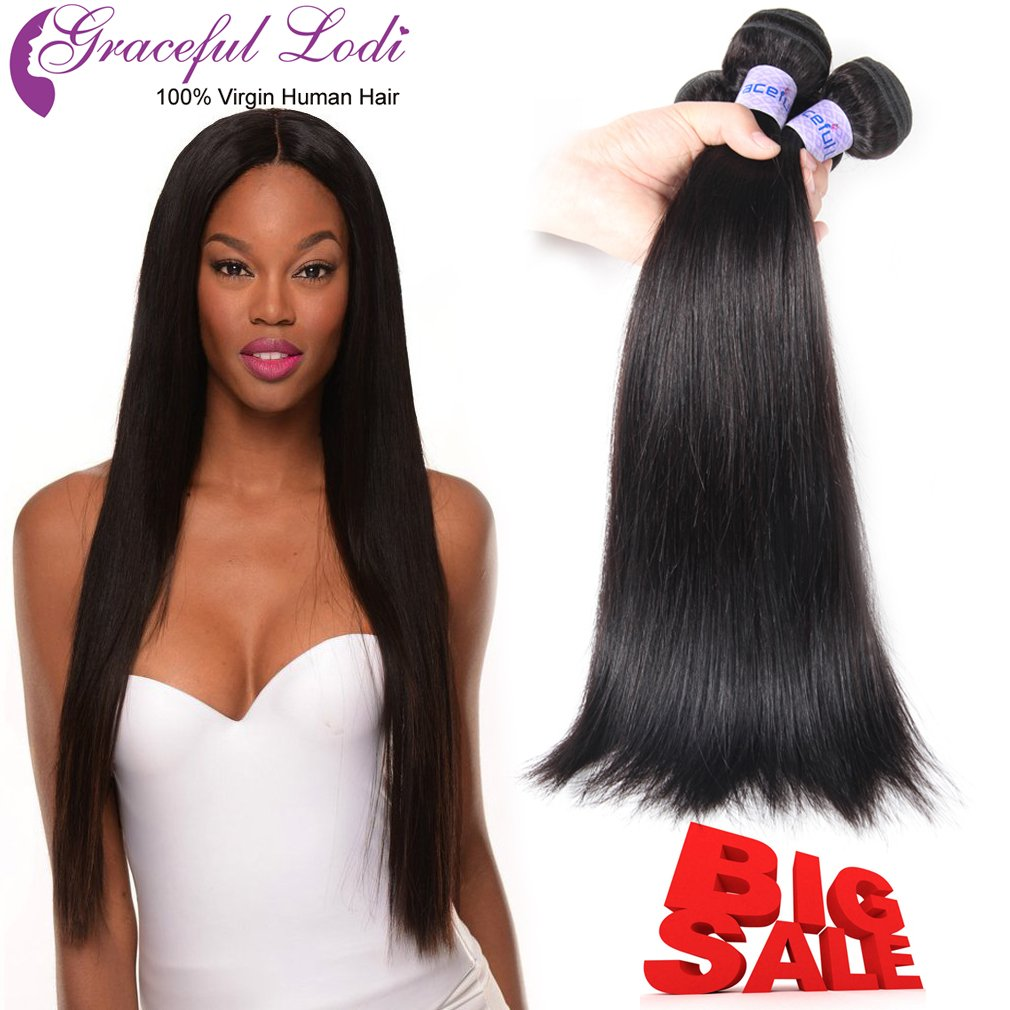 Amazon Brazilian Hair Virgin Weave Hair Human Hair Bundles