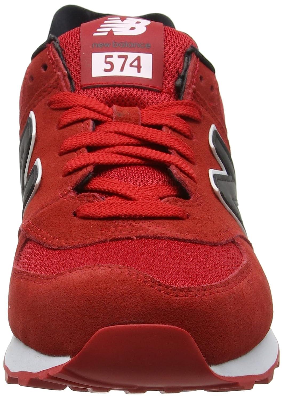 new balance 574 red reflective