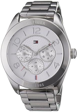 billig für Rabatt offizieller Preis USA billig verkaufen Tommy Hilfiger 1781215 Ladies Silver Gracie Chronograph Watch