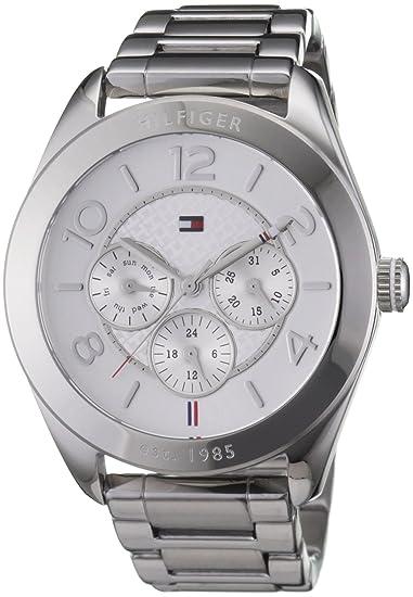 Reloj para mujer Tommy Hilfiger 1781215, mecanismo de cuarzo, diseño con varias esferas, correa de acero inoxidable.: Amazon.es: Relojes