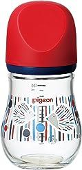 ピジョン Pigeon 母乳実感 哺乳びん my Precious 耐熱ガラス製 ハリネズミ 160ml 0ヶ月から おっぱい育児を確実にサポートする哺乳びん