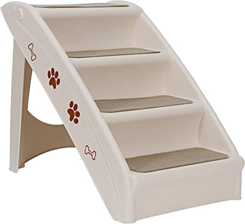 ZENY Pet Stairs, Foldable Steps for Dogs and Cats