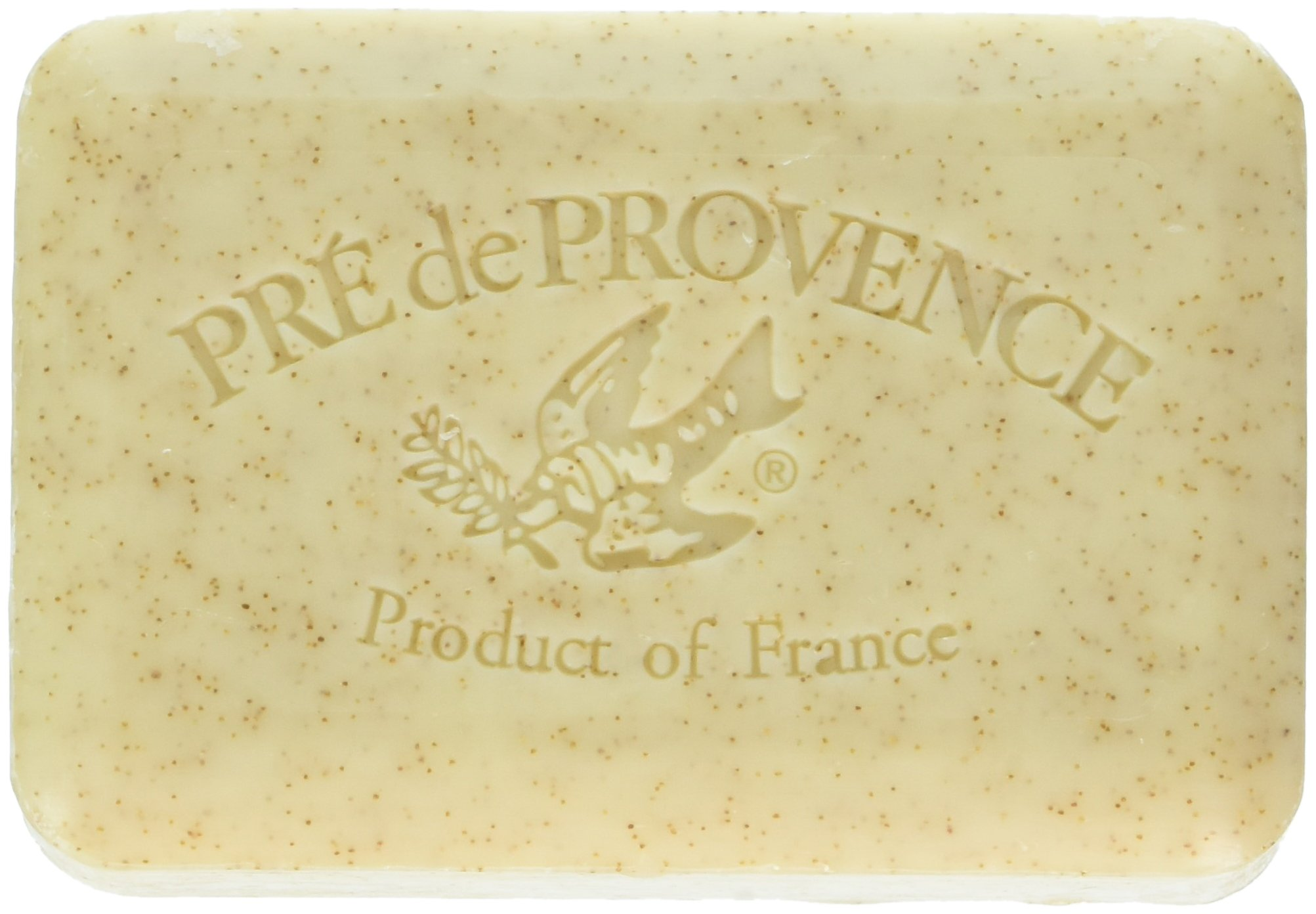 Pre de Provence Artisanal French Soap Bar Enriched with Shea Butter, Quad-Milled For A Smooth & Rich Lather (250 grams) - Honey Almond
