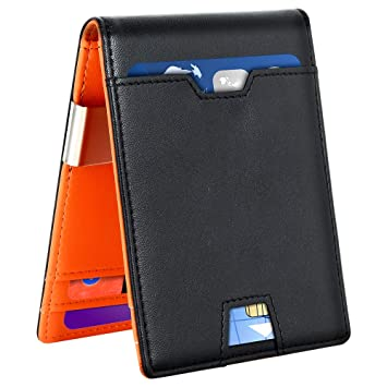 Card Holder Wallet Pocket Credit ID PU Leather Purse Money Cash Travel Mini Hot
