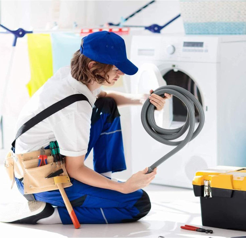 f/ür Waschmaschine Waschtrockner Geschirrsp/üler Verl/ängerung Ablaufschlauch Ablaufschlauch 2M Ablaufschl/äuche f/ür Waschmaschinen
