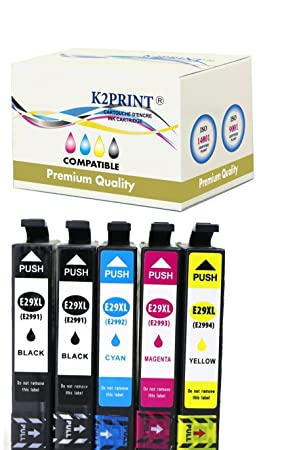 Cartuchos de tinta Epson XP-345 compatibles Premium: Amazon.es ...