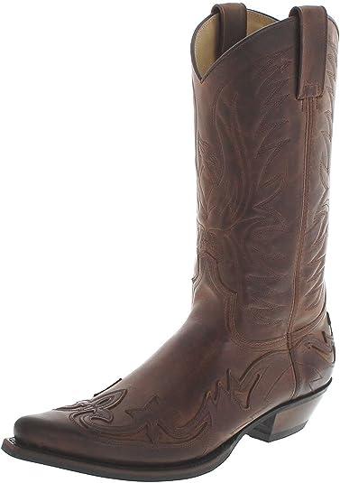 Fashion Boots BU1005 Beirut Camello Westernstiefel für Damen und Herren Braun