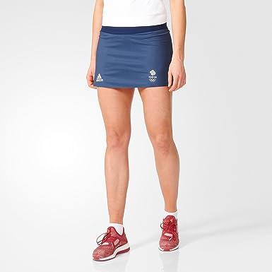 separation shoes 646b0 f3bdc adidas Womens Ladies Team GB Tennis Training Sports Skort Shorts Skirt -  Blue - 12  Amazon.co.uk  Clothing