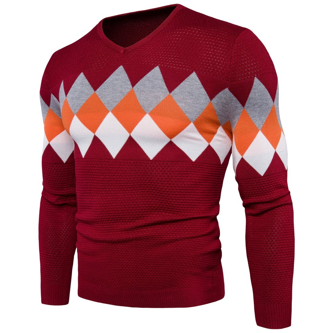 HY-Sweater HY-Sweater HY-Sweater Männer Herbst und Winter Pullover V-Ausschnitt in der gewindebohrung buchstabiere Farbe Freizeitaktivitäten Sau B077RGLMSB Jacken Ausgezeichnetes Handwerk 437dd6