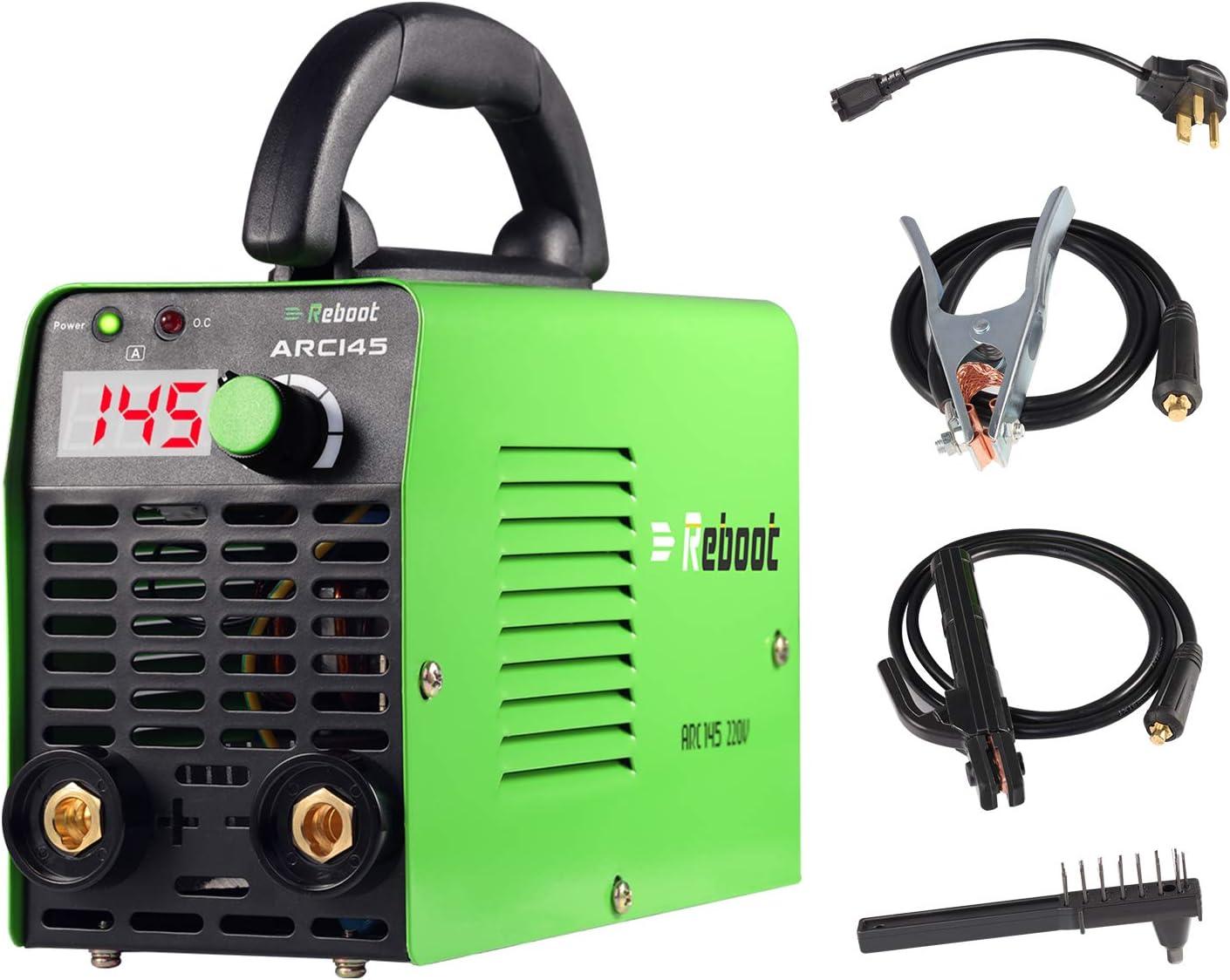 Stamos Germany S-MMA-250-PI Arc Welder Welding Machine Inverter Stick Welder MMA 250 A, 230 V, Hot Start, IGBT, Arc Force, Anti-Stick, incl. Accessories PRO Series