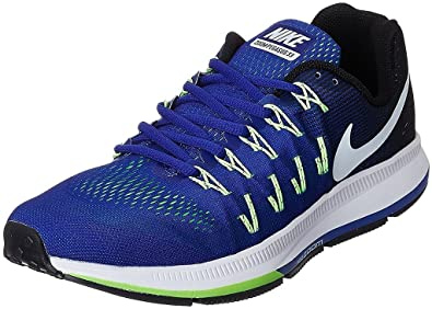e4e3e4900277 Nike Air Zoom Pegasus 33 Blue Running Sport Shoes For Mens  Buy Online at  Low Prices in India - Amazon.in