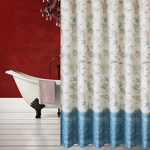 Cortinas de ducha Cortina impermeable espesa del moho Mampara de baño cortina de ducha colgante-A 150cm*180cm: Amazon.es: Hogar