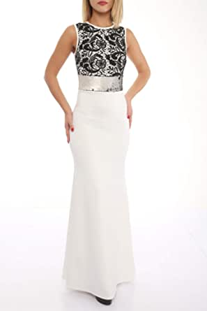 فستان رائع مع دانتيل