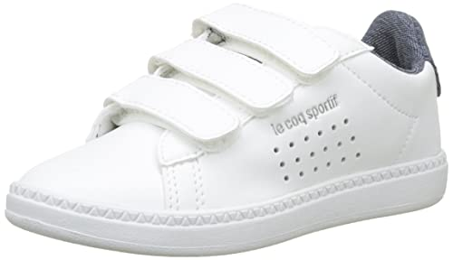 Le Coq Sportif Boys  Courtset Ps Craft Optical White Dress Bl Trainers 05dfe27aa