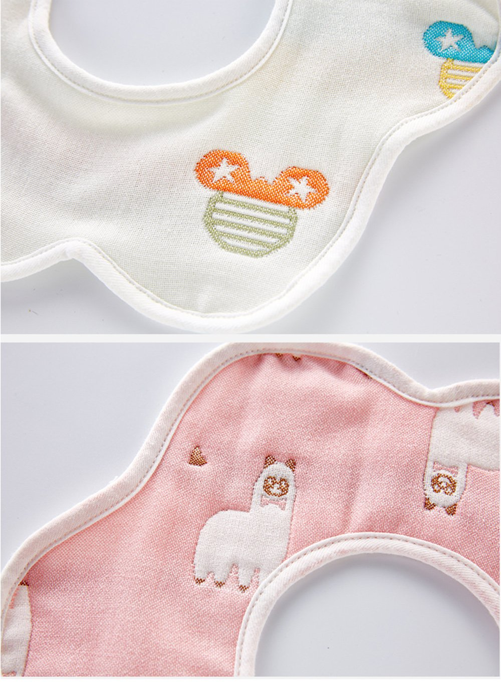 Hocaies Toddler beb/é impermeable babero de manga larga babero con mangas y bolsillo