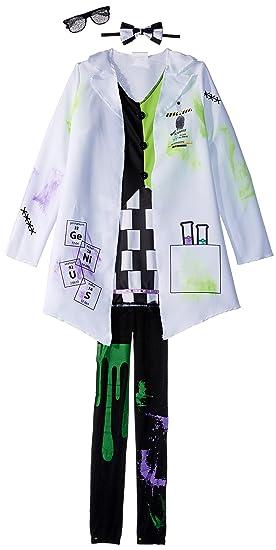 Amazoncom Fun World Mad Evil Scientist Costume For Girls