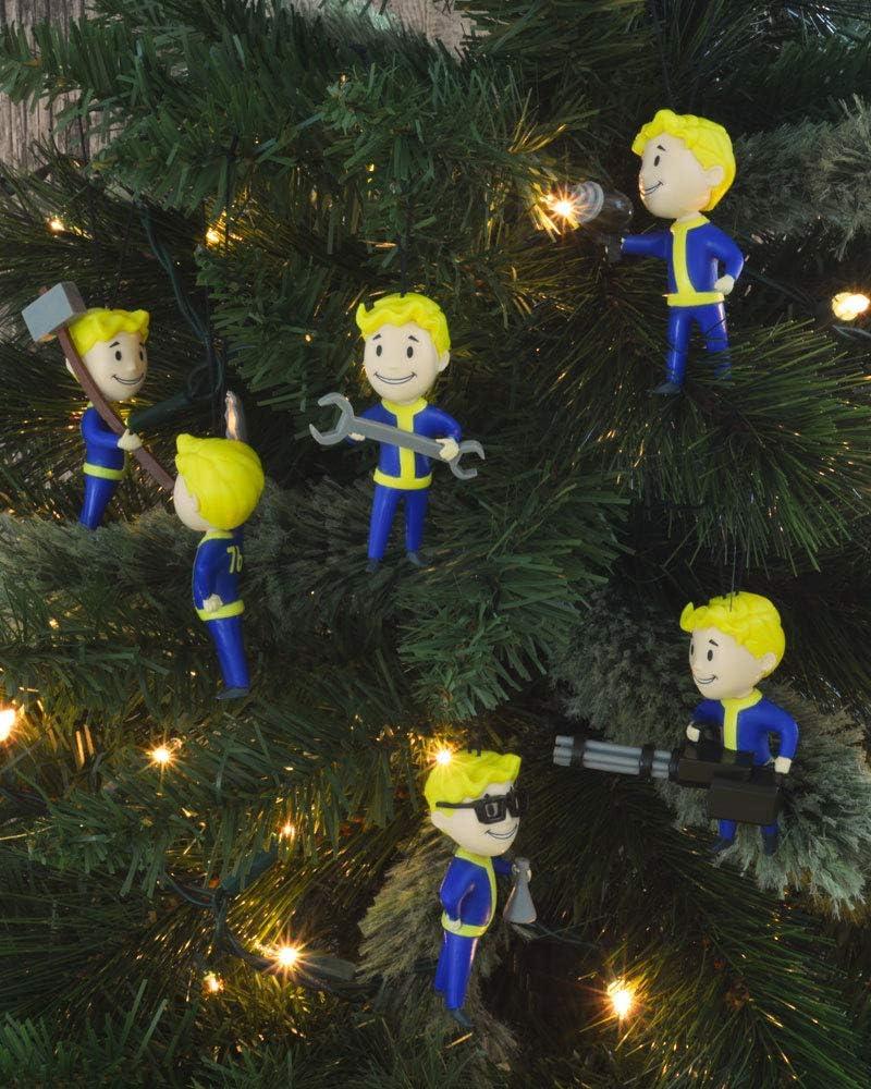 6 Pack Fallout 76 Christmnas Tree Decorations Ornaments Saisonale ...