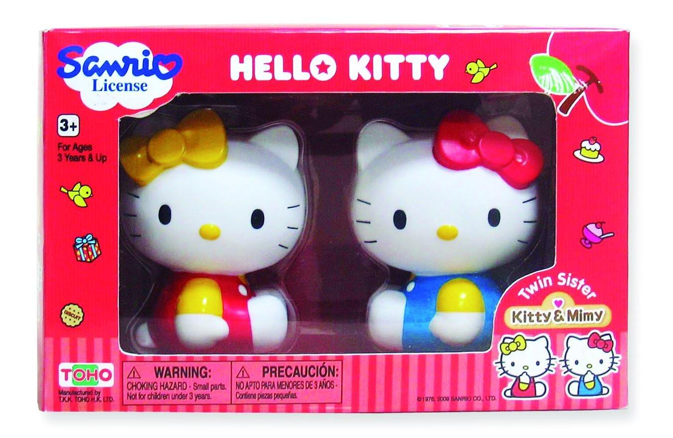 Pazapa BJ290097 - Set di 2 pupazzetti di Hello Kitty, Kitty e Mimmy