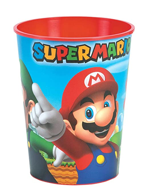 Amazon.com: Super Mario Brothers Toothbrush Bundle: 2 Items - Spinbrush Powered Toothbrush, Mario Character Rinse Cup: Beauty