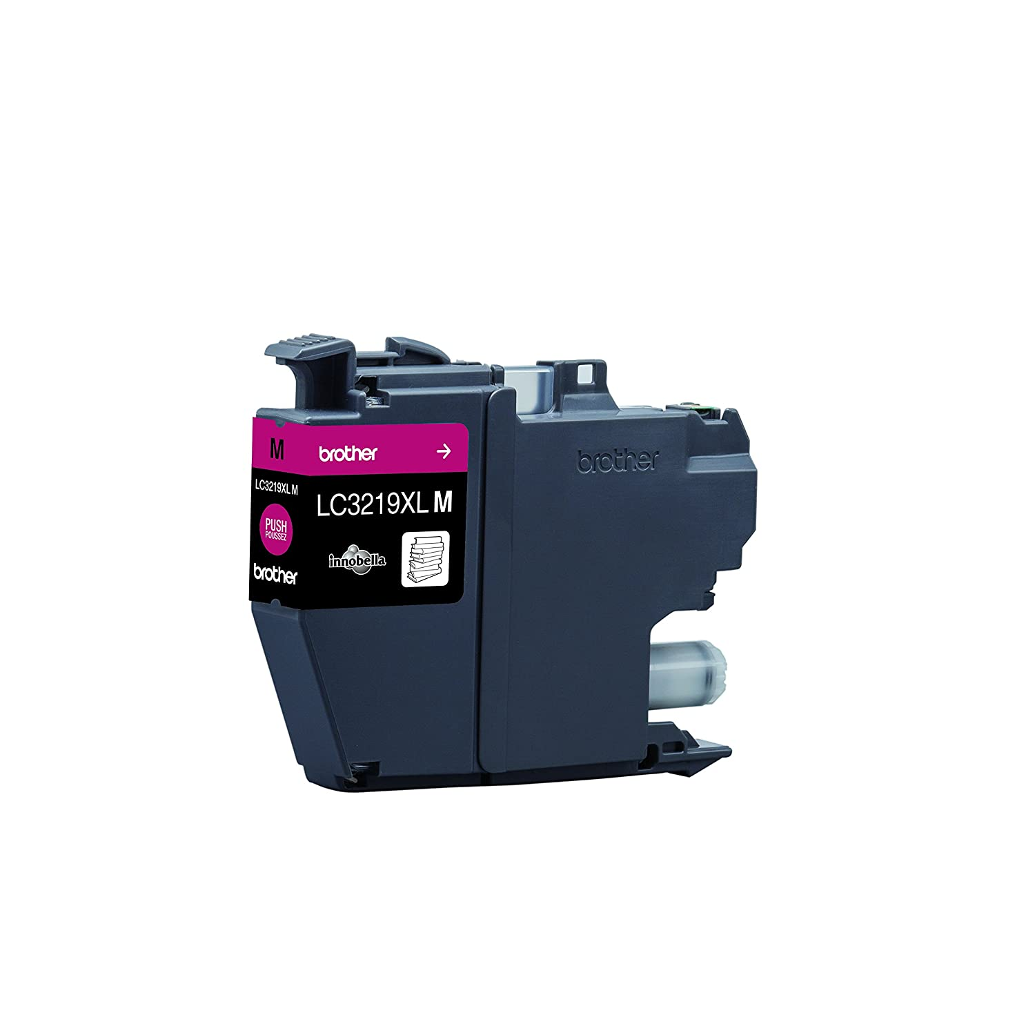 Brother Genuine Supplies High Yield Cyan//Magenta//Yellow//Black Brother LC3219XLC//LC3219XLM//LC3219XLY//LC3219XLBK Inkjet Cartridges Multi-Pack
